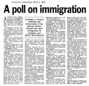 Herald Sun on 3 March 1993