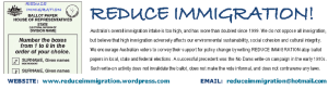 Reduce Immigration bookmark